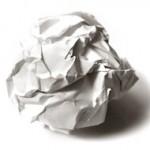 papierová guľa