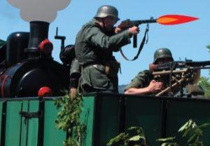 rekonštrukcia bojov z obdobia 2. svetovej vojny