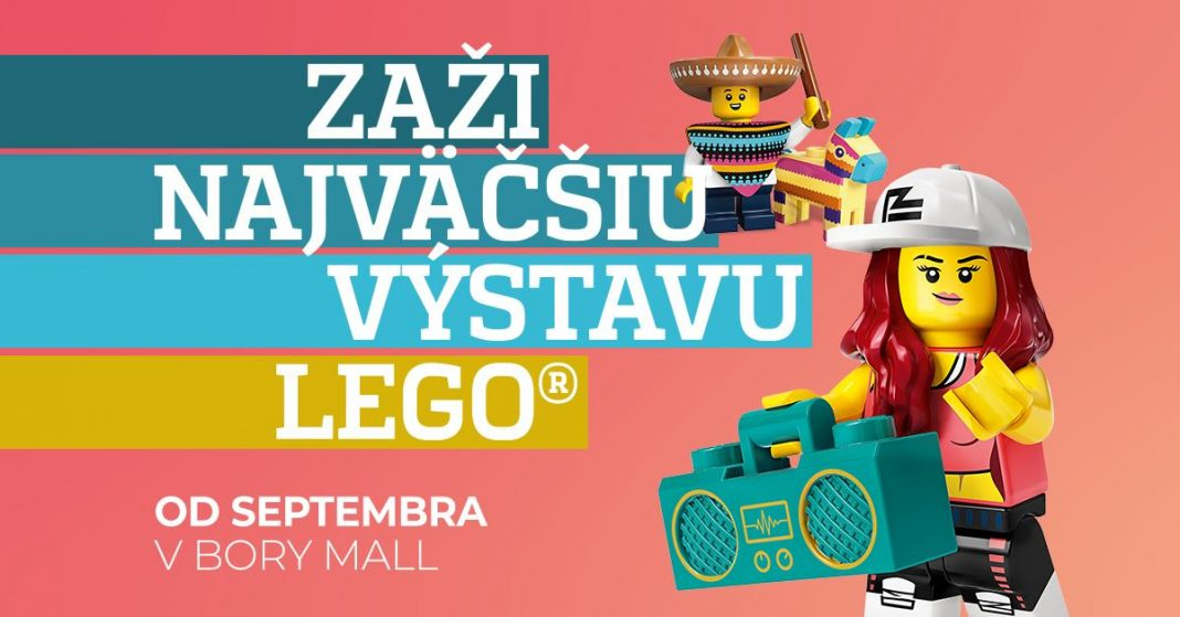 Výstava LEGO v Bory Mall